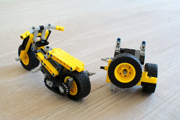 MOC] One-set MOC 42035: Sidecar - LEGO Technic, Mindstorms & Model ...